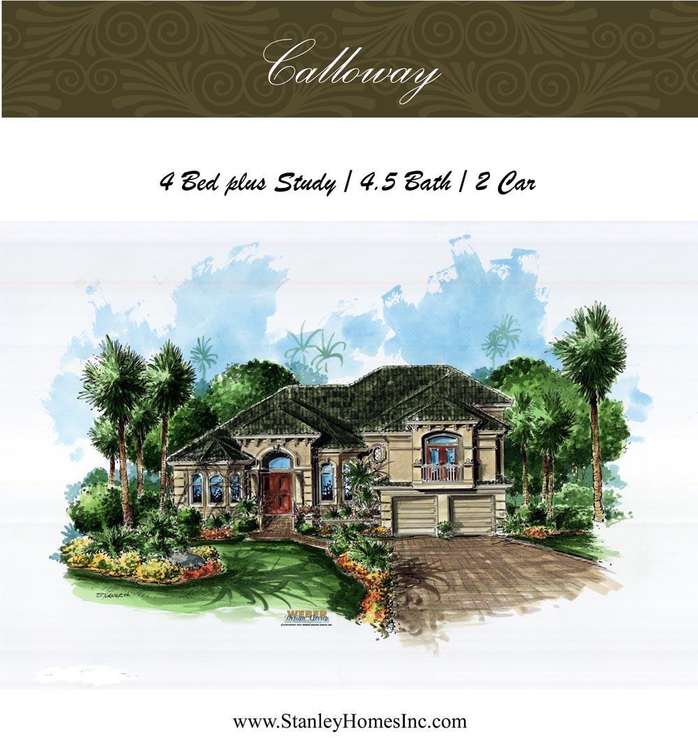 Calloway - Stanley Homes Inc Floor Plans Brevard Florida