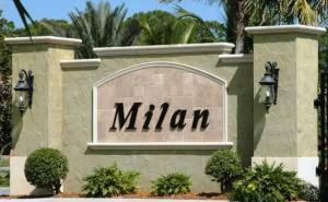 Milan entrance