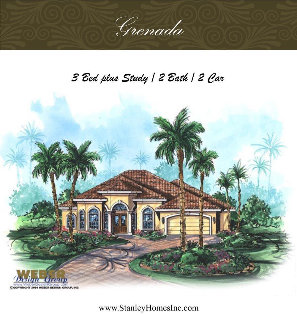 Grenada - Stanley Homes Inc Floor Plans Brevard Florida