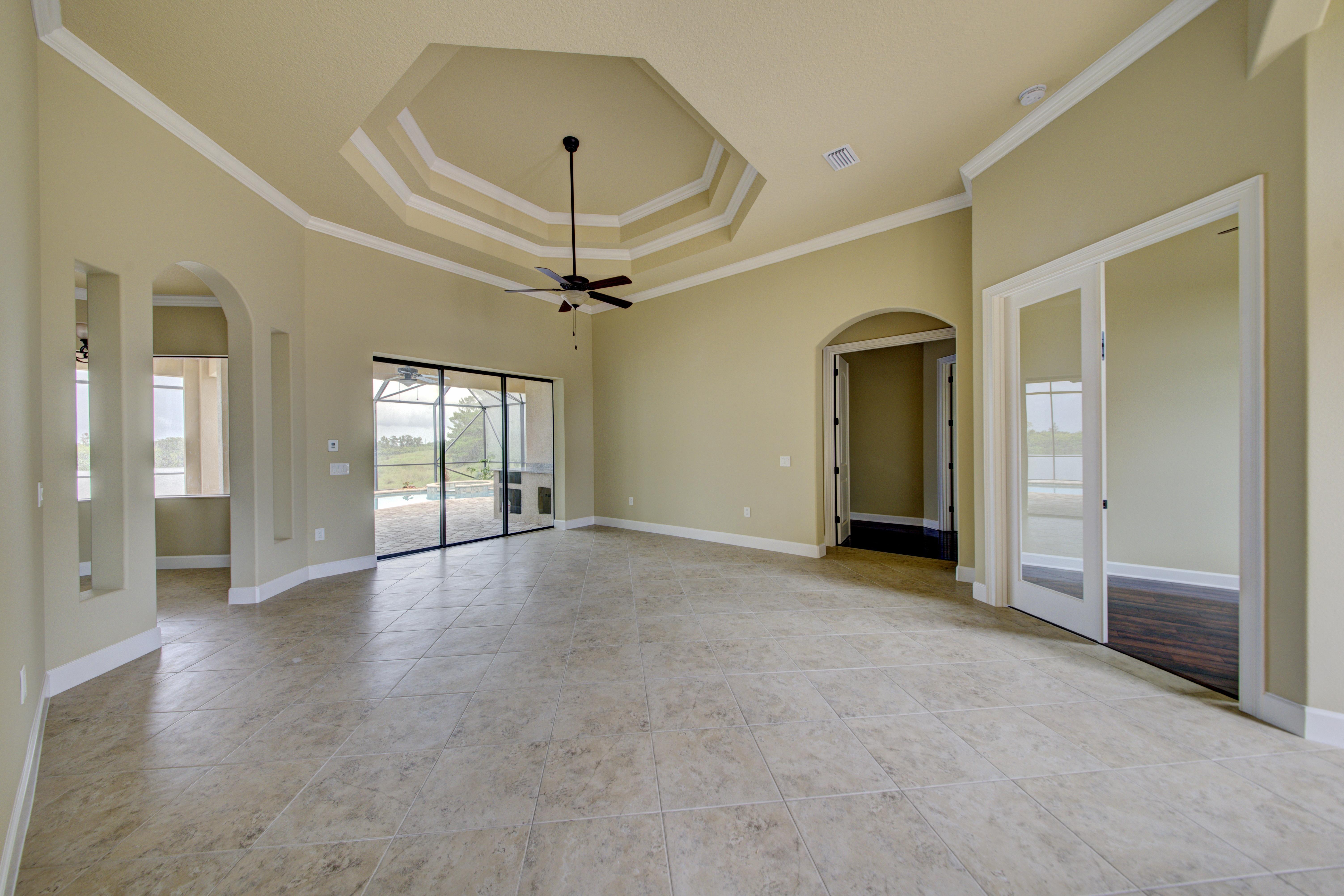Custom Ceilings Home Construction