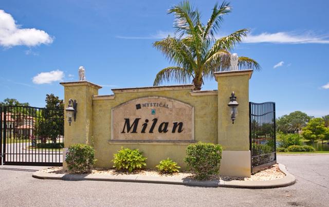 Entrance to Milan