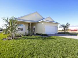 Finished Customer Home Key Largo Model Stanley Homes Brevard Florida