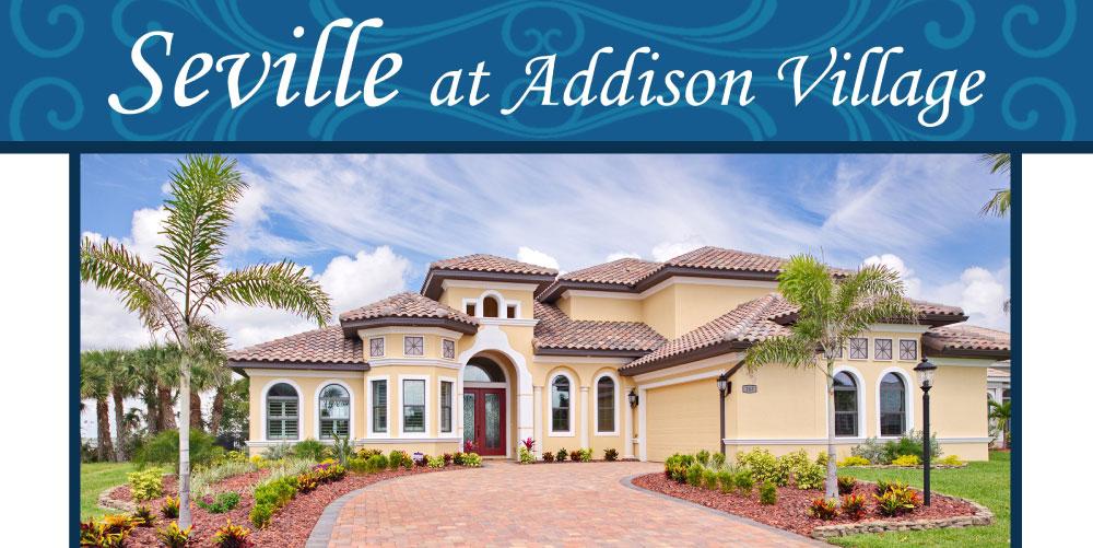 Seville at Addison Village Stanley Homes Melbourne Viera FL