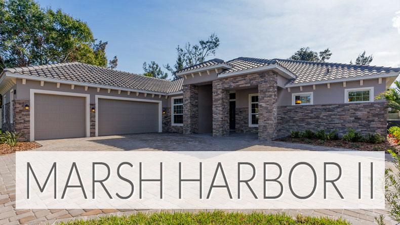 Marsh Harbor II finished homes Brevard County FL