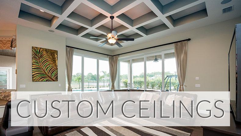 Custom ceiling designs