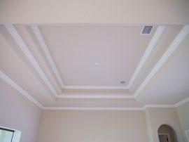 custom ceiling designs by Stanley Homes in Viera FL