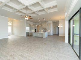 custom ceiling designs by Stanley Homes custom home builder in Viera Fl