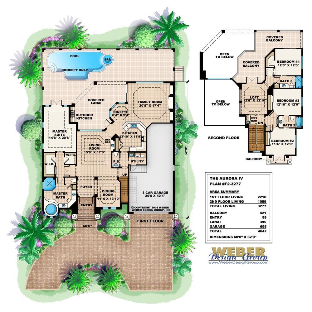 Aurora IV - Stanley Homes Inc Floor Plans Brevard Florida