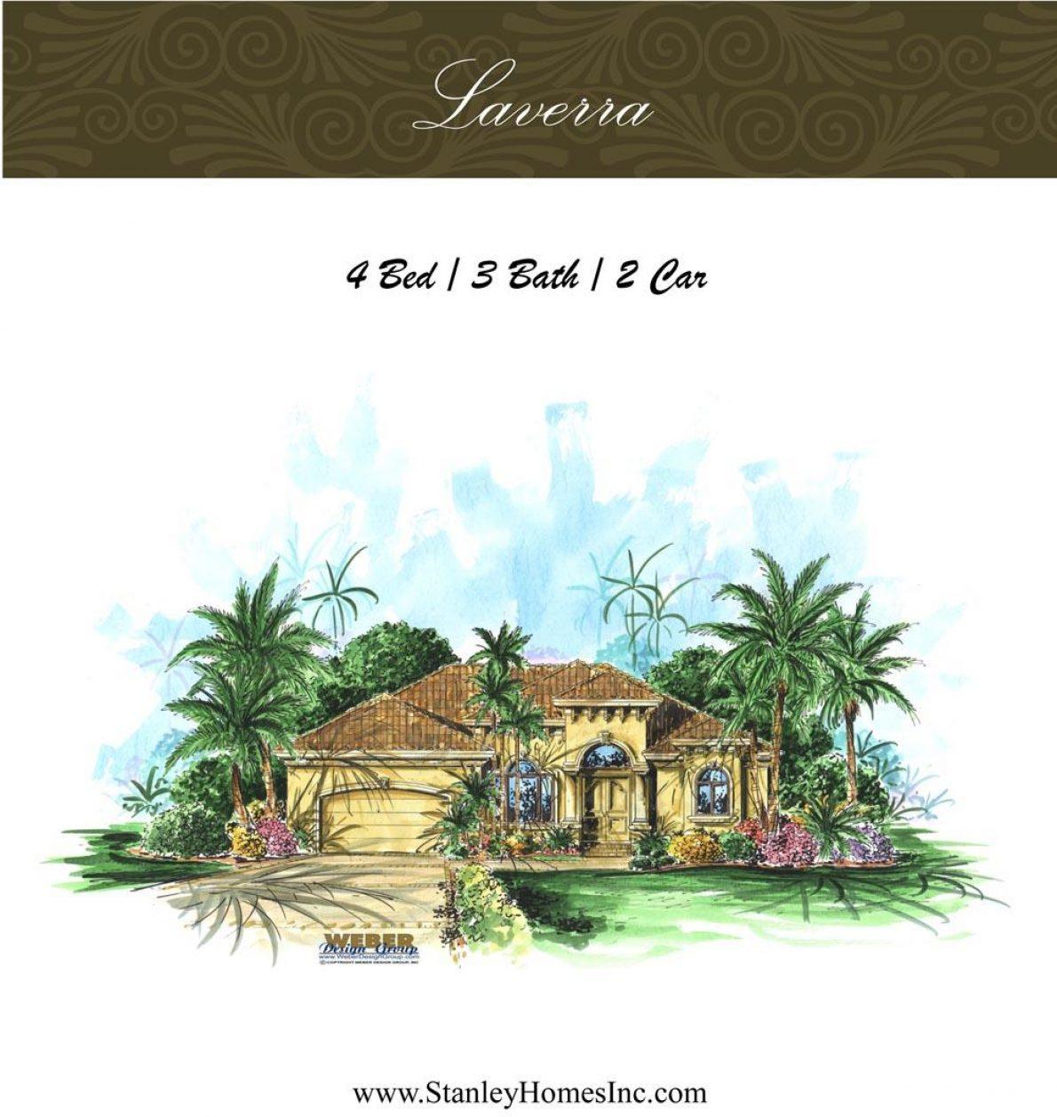 Laverra - Stanley Homes Inc Floor Plans Brevard Florida