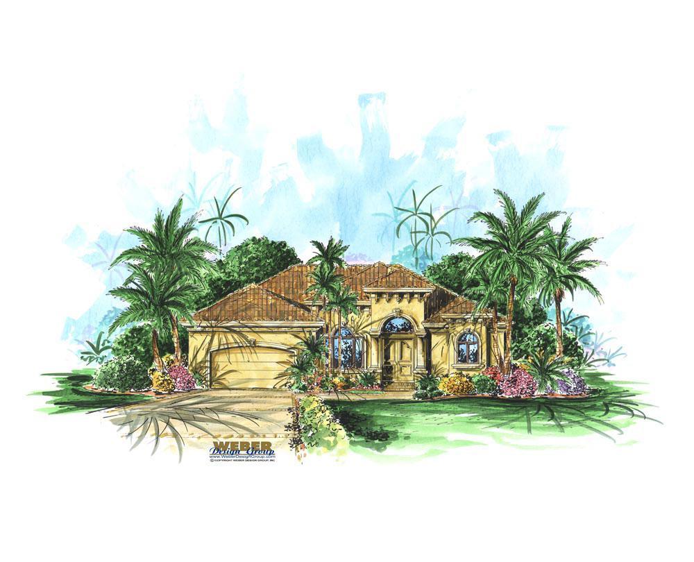 Laverra-elevation-Stanley Homes Brevard Home Builder