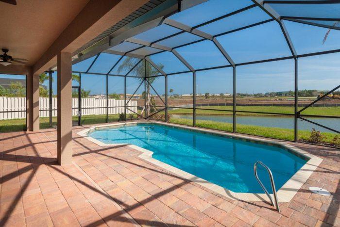 Stanley Homes Grand Villa Pool