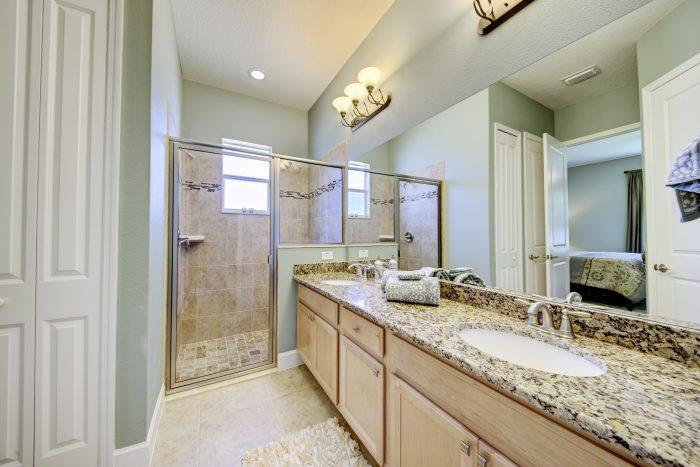 Master Bath Walk-in Shower