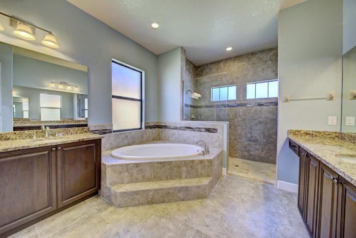 Master Bath_Walk-in Shower