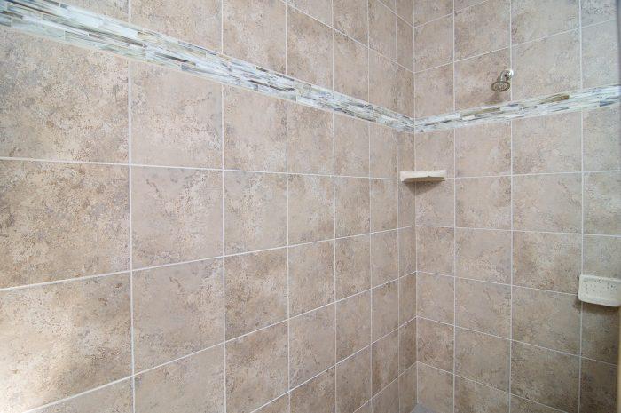 Tile Work in Master Shower