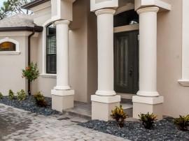Finished Customer Home Oahu Stanley Homes Brevard Florida