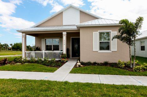 Marathon Floor Plan Finished Home Stanley Homes Brevard Volusia Melbourne Viera New Smyrna Beach FL