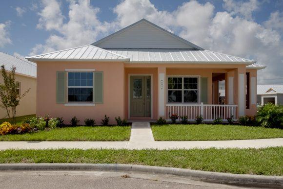 Key West Floor plan Finished home Stanley Homes Melbourne FL