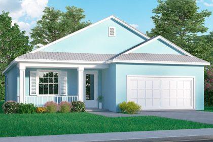 Key Largo Floor Plan Elevation Stanley Homes Melbourne Brevard FL