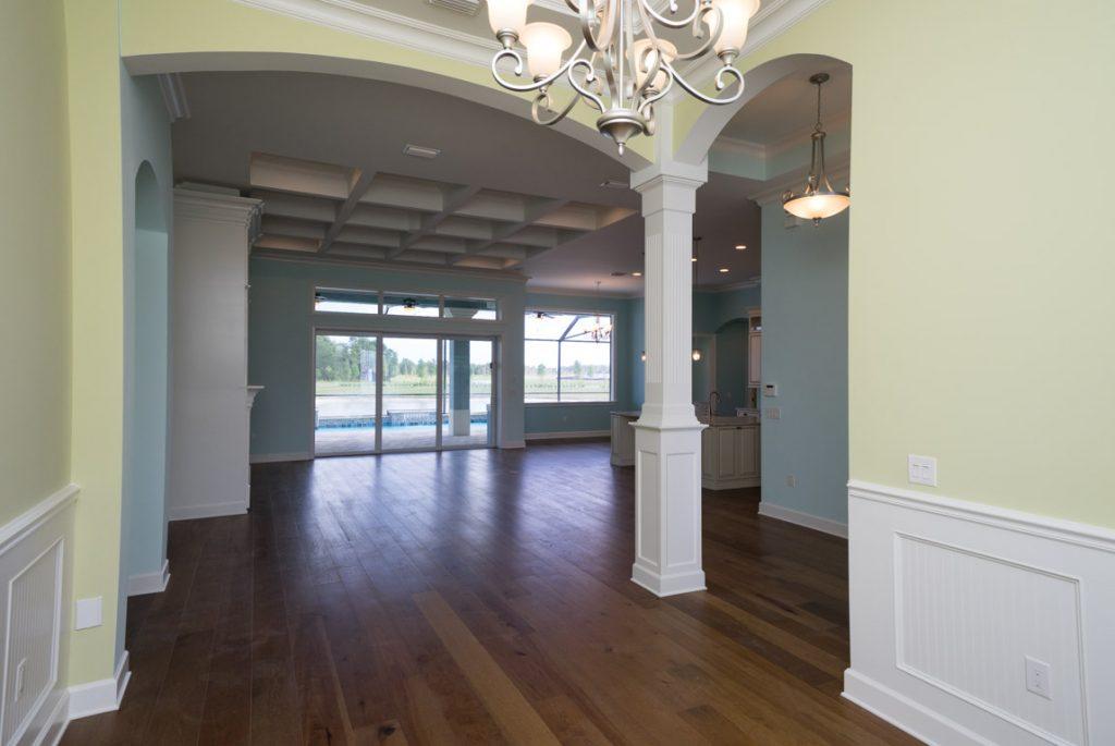 finished home walk through Marsh Harbor II floorplan by Stanley Homes Viera FL (1)