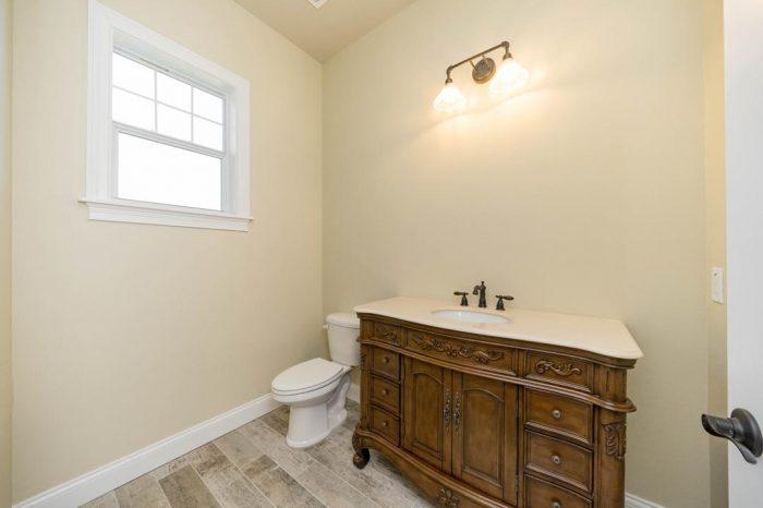 custom bathroom designs by Stanley Homes in Viera FL custom home builder